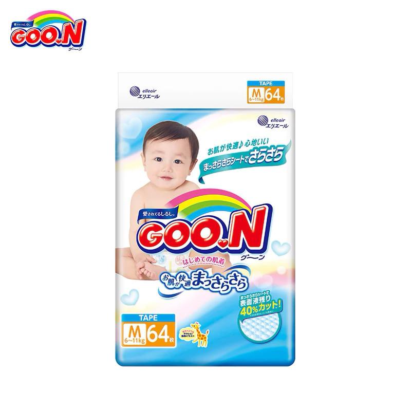 Подгузники GOON Boys and Girls 6-11 кг (64 шт.) М