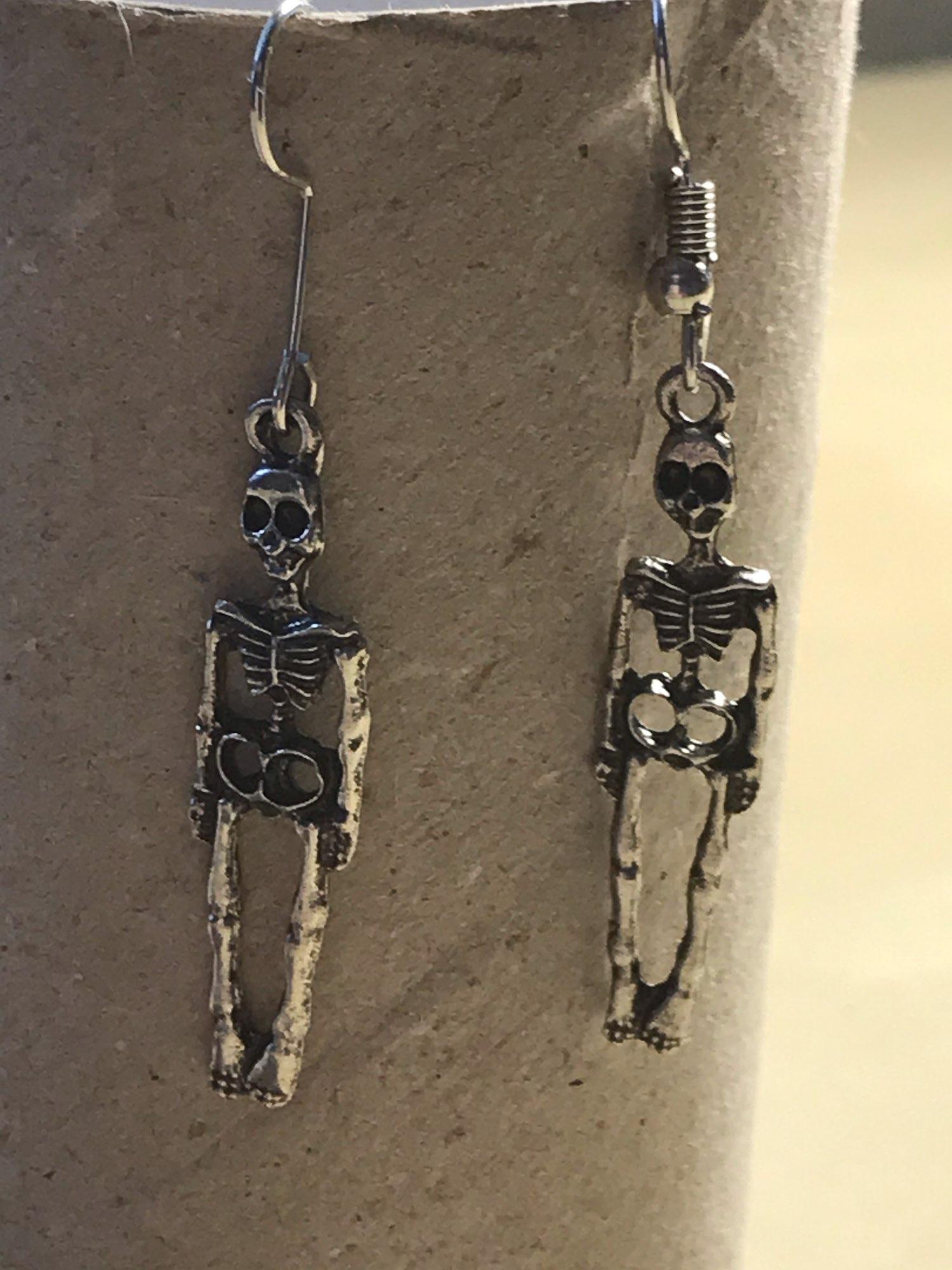 Skeleton Dangle Earrings photo review