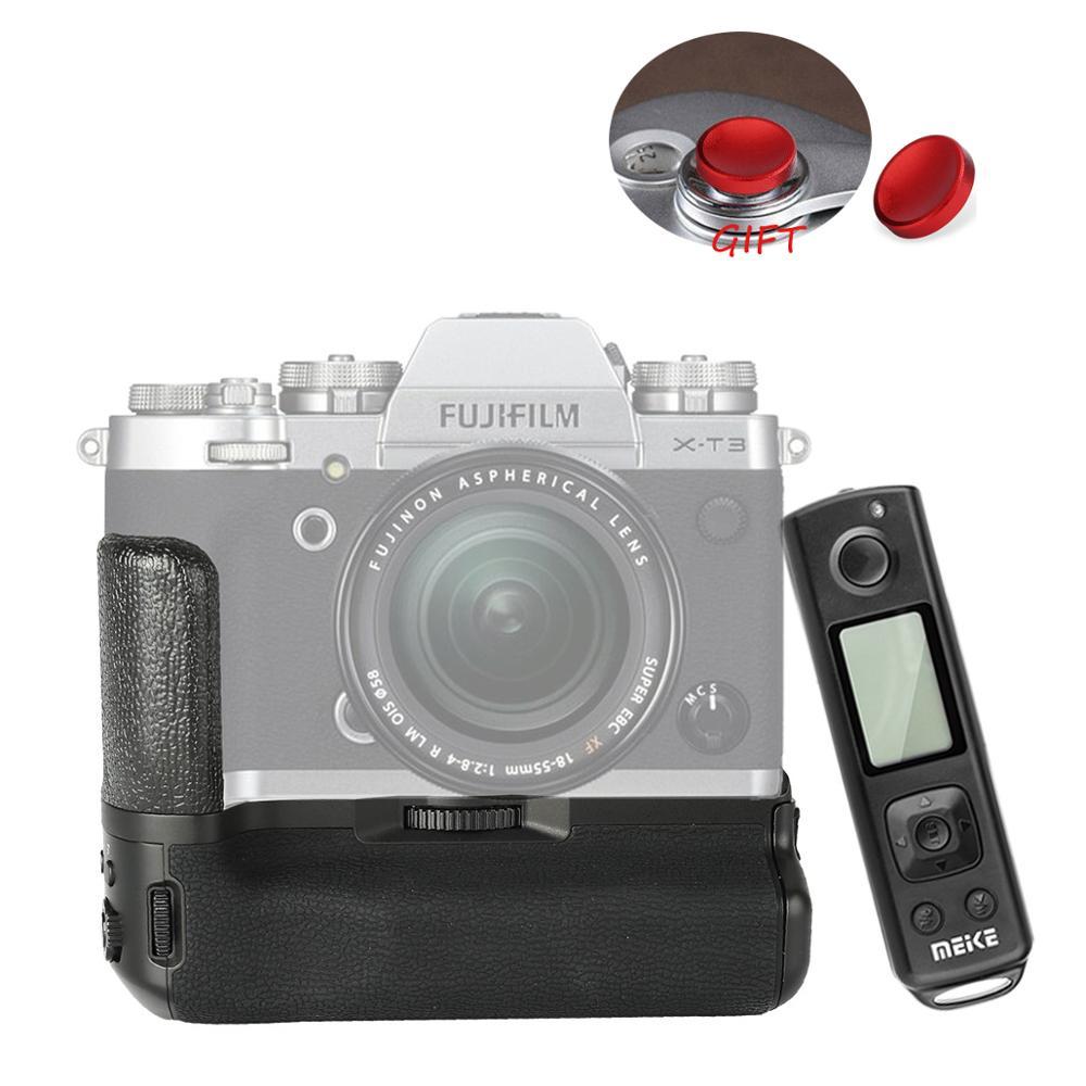Meike MK-XT3 Pro Vertical Shooting Battery Grip For Fujifilm Fuji XT3 X-T3 With 2.4G Hz Wireless Remote Control As VG-XT3