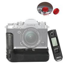 Meike MK-XT3 Pro Вертикальная съемка батарея ручка для Fujifilm Fuji XT3 X-T3 с 2,4G Hz беспроводной пульт дистанционного управления как VG-XT3