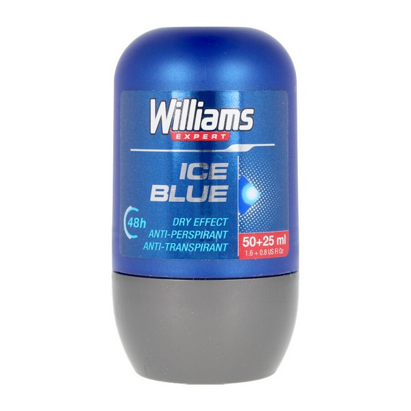 Roll-On Deodorant Ice Blue Williams (75 Ml)