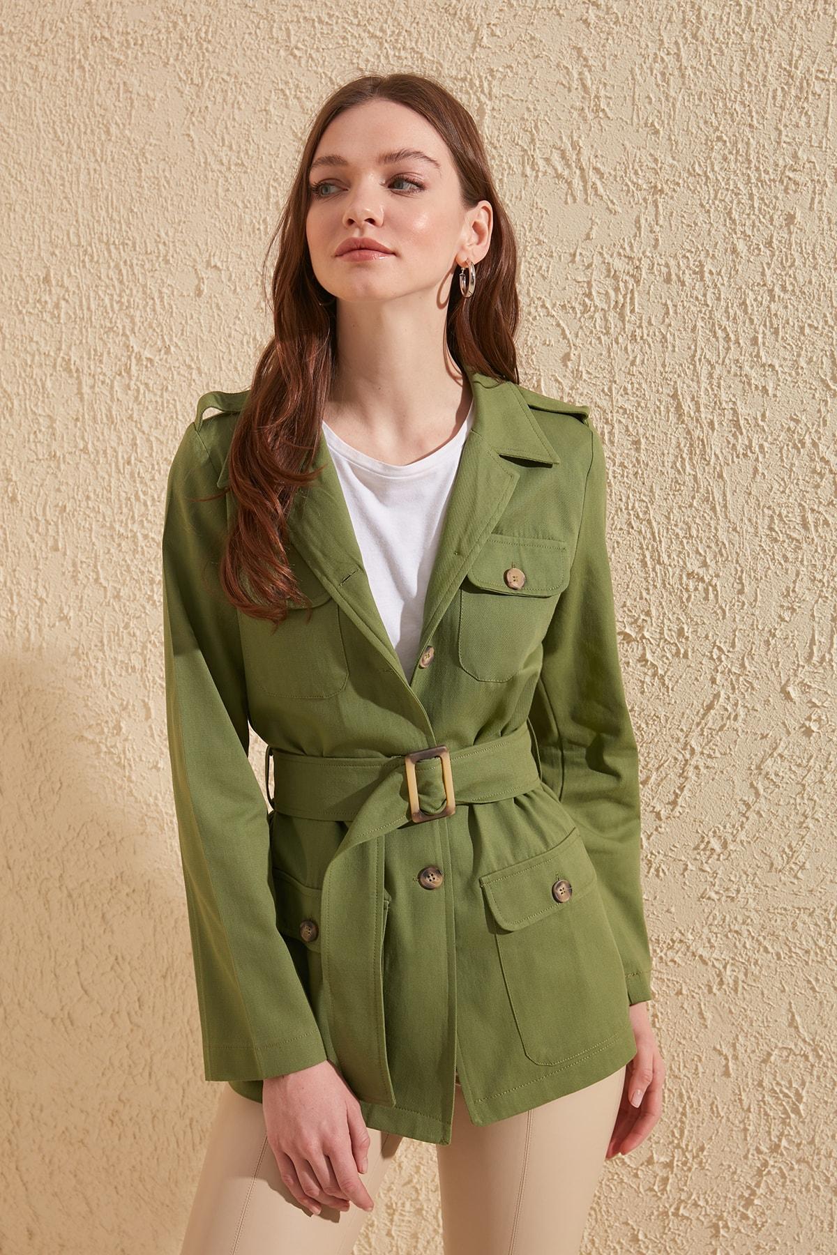 Trendyol Bel Gusset Jacket TWOSS20CE0075