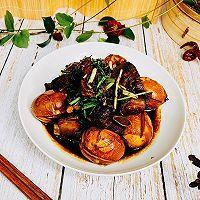 """#美食说出""""新年好""""#年味红烧肉排蛋的做法图解9"""
