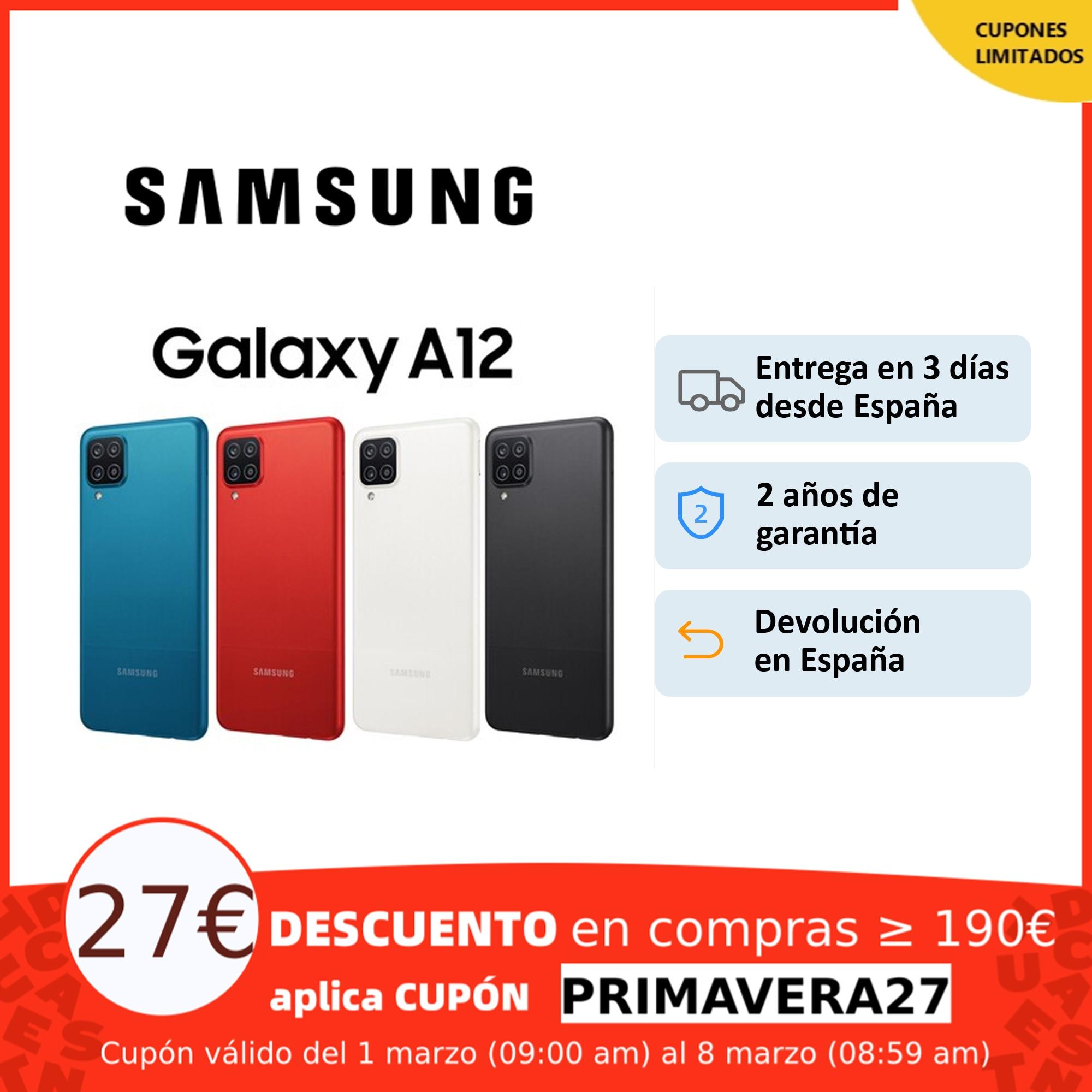 Samsung Galaxy A12, Smartphone HD+ LCD 6.5