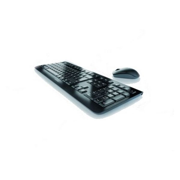 Keyboard And Wireless Mouse Cherry JD-0700ES Black