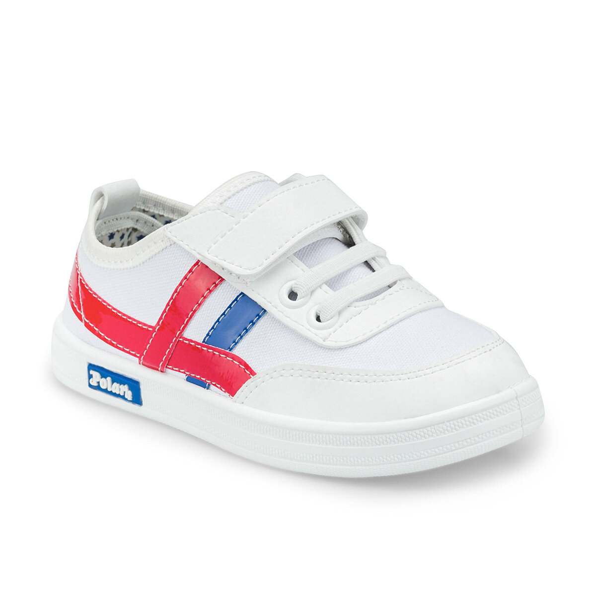 FLO 512215.P White Male Child Sneaker Shoes Polaris