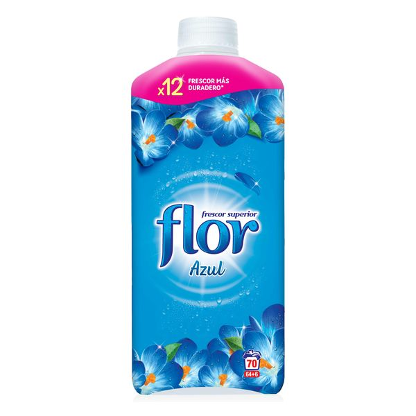Flor Blue Concentrated Fabric Conditioner 1.5 L (70 Washes)