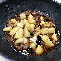 土豆牛腩组合套餐的做法图解8
