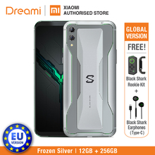 EU Version Xiaomi Black Shark 2 256GB Rom 12GB Ram Gaming phone (Brand New and Sealed Box) blackshark2256 Smartphone Mobile