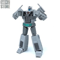 [Show.Z Store] Magic Square MS MS Toys MS B18W MSB18W Light of Justice OP Ultra Magnus White Version Transformation Action Fig