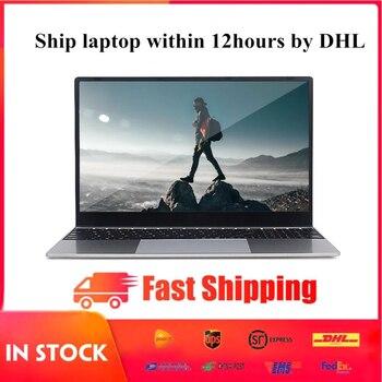 15.6 inch Intel J3455 Laptop Notebook Computer 8G RAM 128G/256G/512G SSD IPS Screen With Windows 10 Ultrabook HDMI RJ45 WLAN