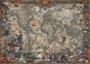 Image 2 - Antique World Map   Counted Cross Stitch Kits   DIY Handmade Needlework for Embroidery 14 ct Cross Stitch Sets DMC Color