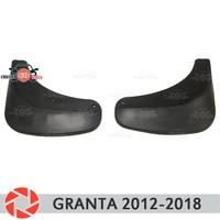 Car mud flaps for Lada Granta Liftback 2012~2018 mudflaps splash guards mud flap front mudguards fender car accessories