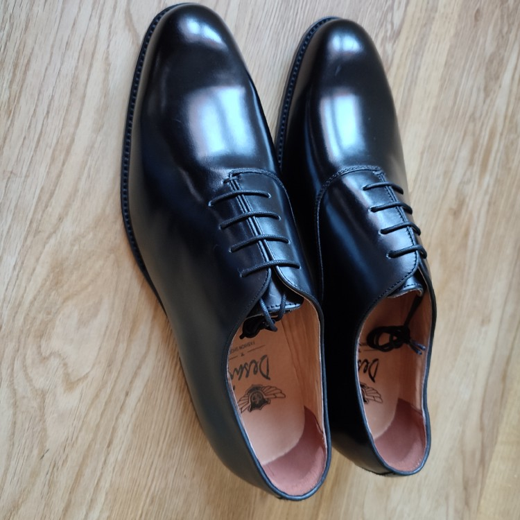 Desai men's leather oxford shoes
