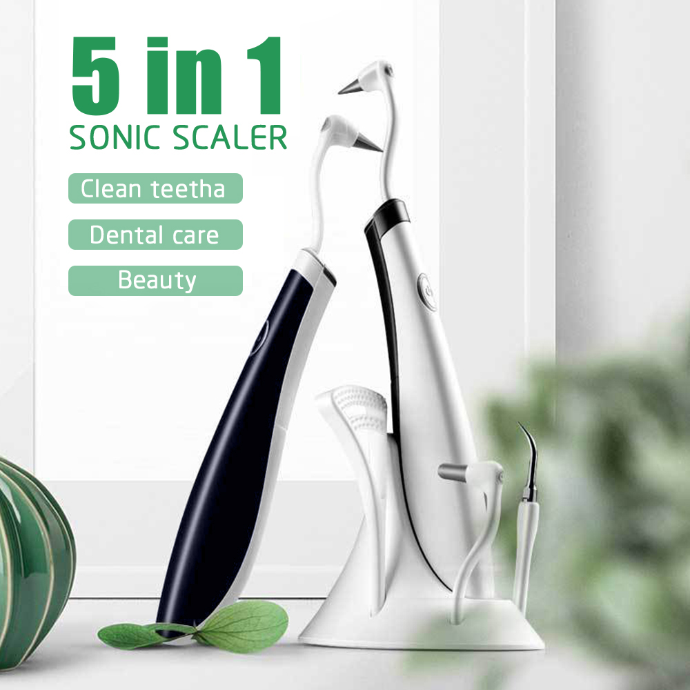 Dental Tool Electric Sound Wave Tooth Stain Eraser Plaque Remover Teeth Whitening Dental Cleaning Scaler Tooth Odontologia Tool