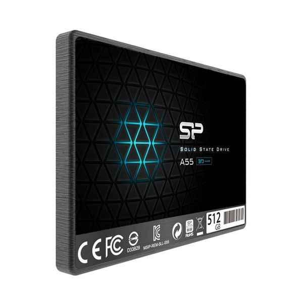 Disco Duro de silicio potencia SP512GBSS3A55S25 512 GB SSD