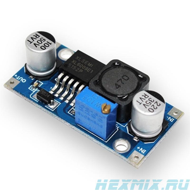 Voltage Converter DC-DC Boost On Chip Xl6009e1