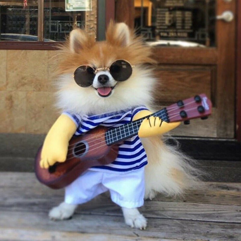 Guitar-Player-Pet-Dog-Clothes-Party-Cosplay-Puppy-Funny-Dog-Cat-Costume-Coat-Jumpsuit