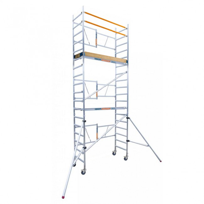 SCAFFOLDING Folding In Aluminum IBER SCAFFOLDING S High Altitude Working 6,50 M