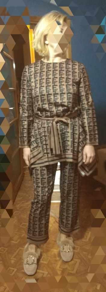 Толстовка Женская, с буквенным принтом, кофейно-коричневая футболка с длинным рукавом и круглой шеей, с неровными прямыми краями, 2019 с Алиэкспресс