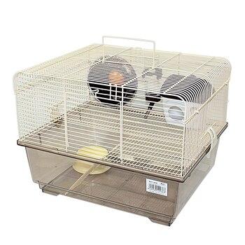 DZL-Jaula Hámster Chalé jaulas Hamsters Grande con Rueda de Juego casita Hamster...