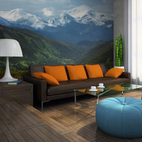 Photo Wallpaper-mountain Scenery Primavernal