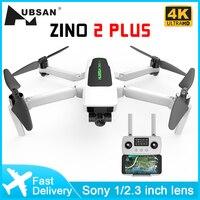 Hubsan Zino 2 Plus Drone 4k Profesional de 3 ejes cardán Cámara FPV RC 5G WiFi 8KM 35 minutos de tiempo de vuelo RC Quadcopter
