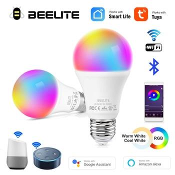 Beelite LED Wifi Smart Bulb RGB CW Dimmable Magic Bulb Timer Function Smart Lamp LED wifi Alexa/Google Home E27 B22 110V 220V 1