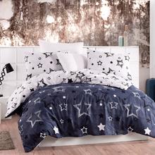 Lady Moda Star Luxury Bed Linen Cotton Set Ranforce Bedding Set Twin Full Queen King Size 3 4 5 pcs Bed Sheet Duvet Cover Set cheap None Sheet Pillowcase Duvet Cover Sets Polyester Cotton 1 8m (6 feet) 1 5m (5 feet) 2 0m (6 6 feet) quality flower-garden