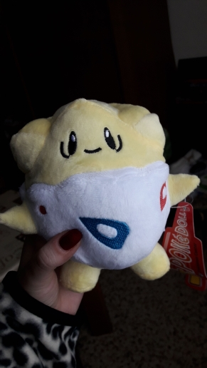 Large Togopei White Plushie Hugables Pokemon
