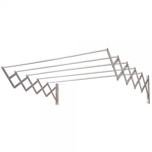 Extendable Clothesline Wall 1,20 Meters Aluminum