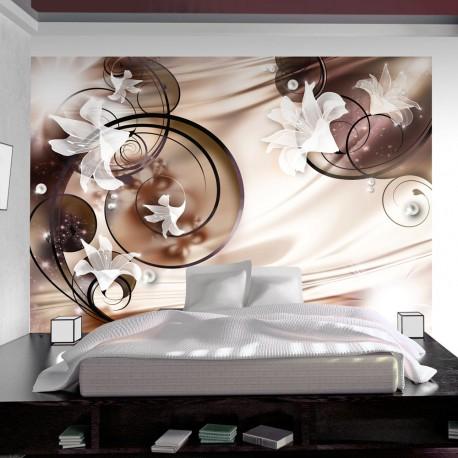 Photo Wallpaper Carpet Satin