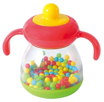 Бутылочка c шариками, развивающая игрушка PlayGo Play1505