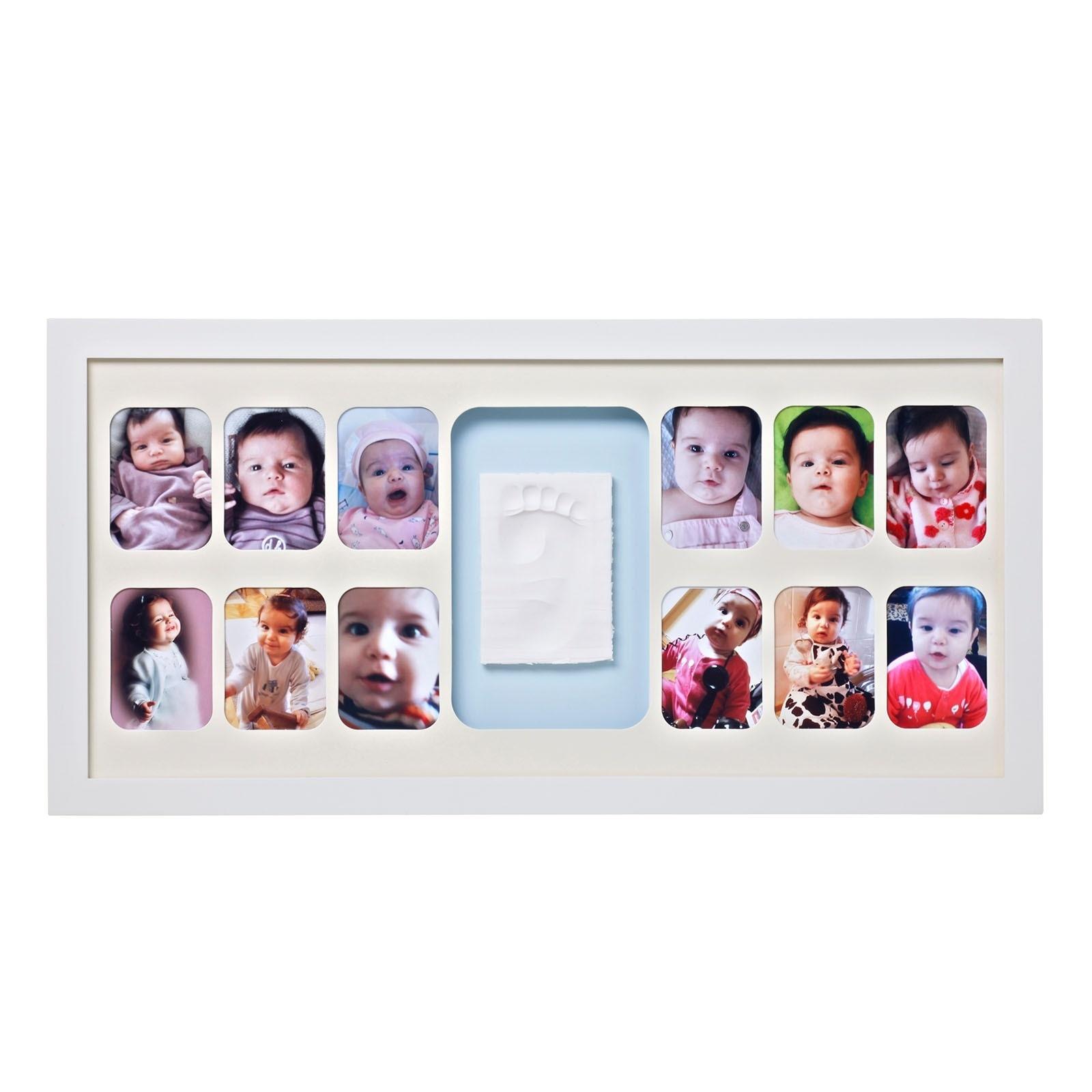 Ebebek Baby Memory Prints 12 Months Frame White