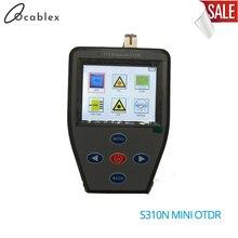 FTTH S310N OTDR يده صغير مع عداد الطاقة البصرية + مصدر ضوء مستقر + VFL متعددة الوظائف S310N يمكن اختبار الألياف النشطة OTDR
