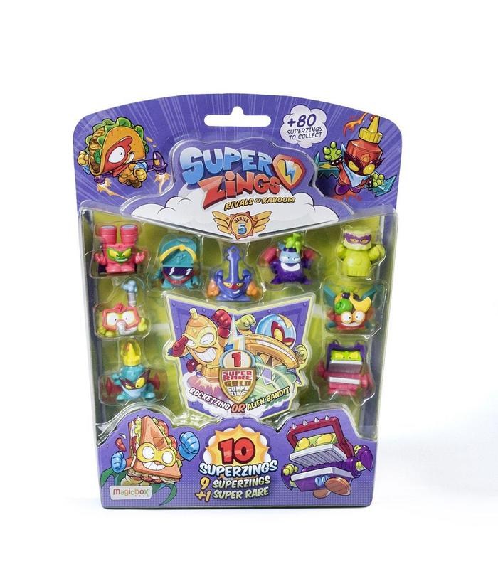 Superzings V Blister10 Figurine 1x6 Toy Store