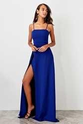 Trendyol Slash Low-Cut вечернее платье TPRSS19FZ0511