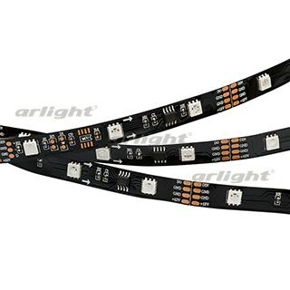 024599 Tape Spi-5000-am 12 V RGB (5060,150 Led X3,1804, Black) Arlight Coil 5m