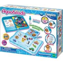 Game set Aquabeads Studio eerstejaars met vorm-перевертышем, 840 kralen (аквамозаика)