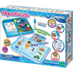 Game set Aquabeads Studio freshman with shape-перевертышем, 840 beads (аквамозаика)