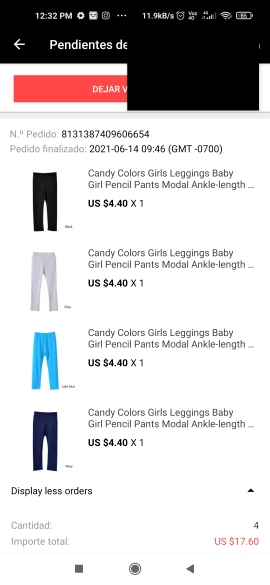 Candy Colors Girls Leggings Baby Girl Pencil Pants Modal Ankle-length Leggings Skinny Legging for 2-13 Years Kids Clothes photo review
