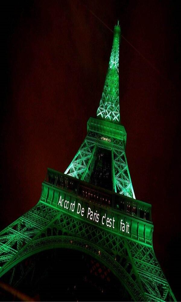 《巴黎协定》封面图片