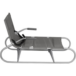Folding sled Demi gray