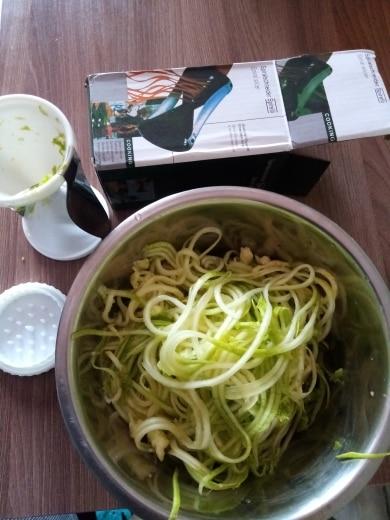 Multifunction Vegetable Spiral Slicer photo review