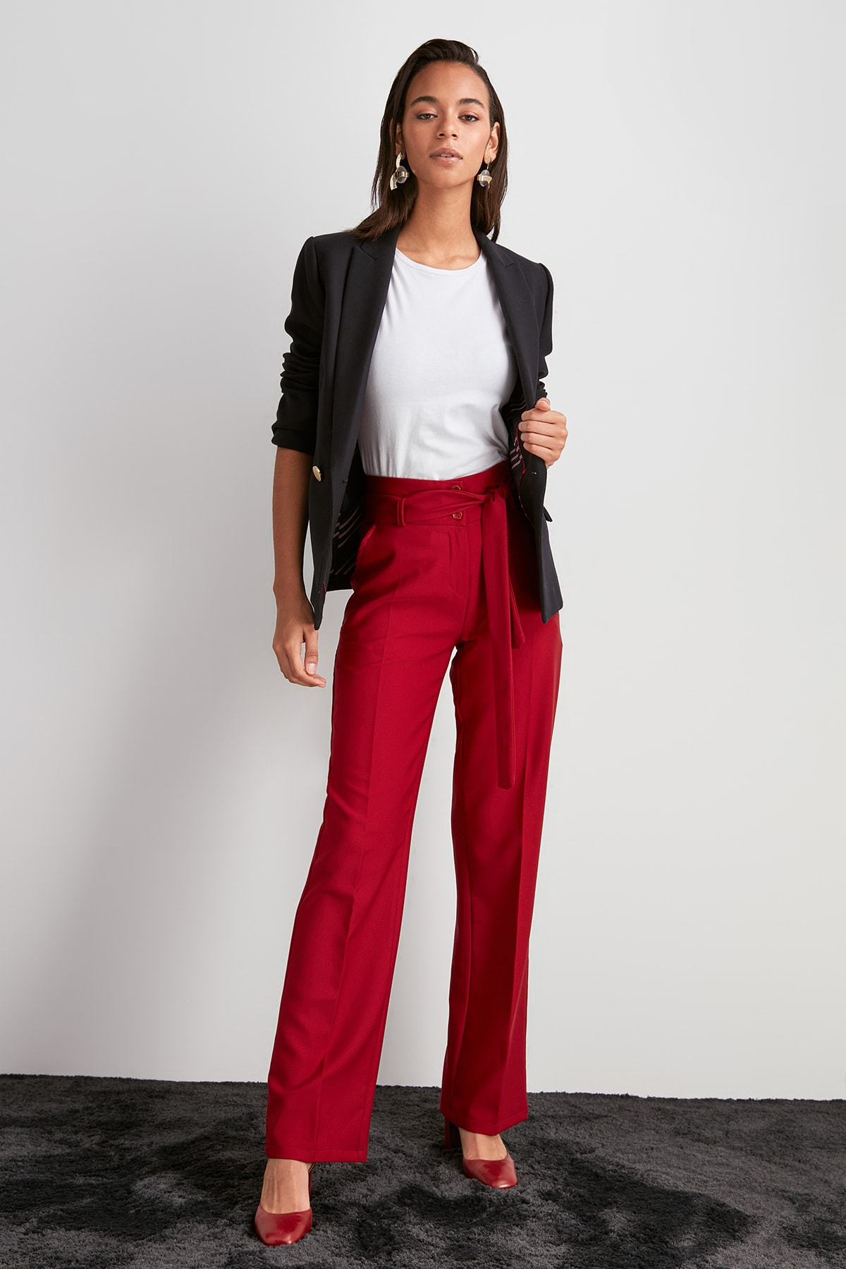 Trendyol Button Detail Pants TWOAW20PL0601