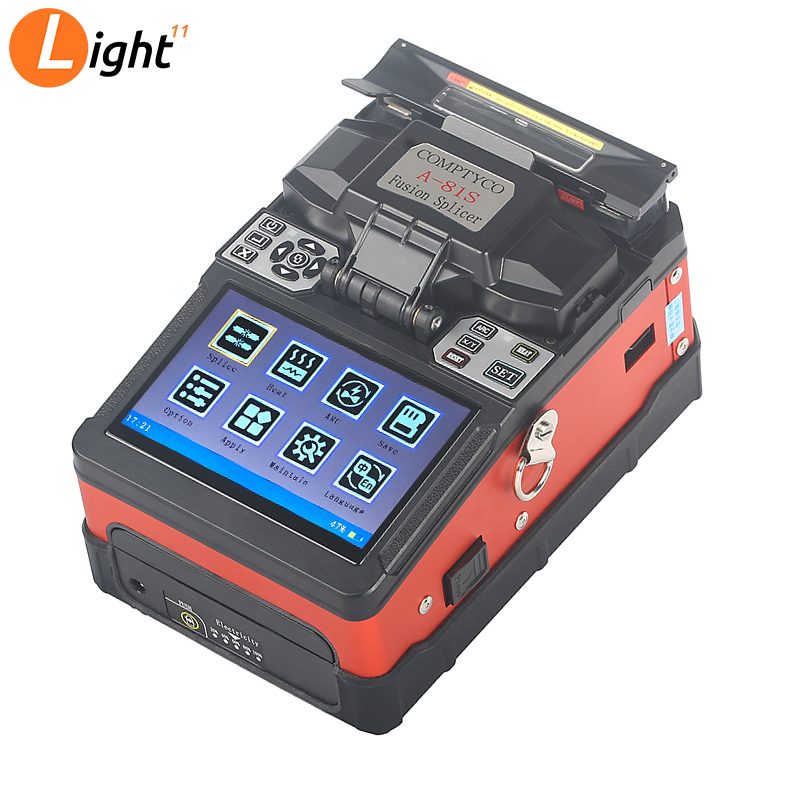 A-81S Orange Fully Automatic Fusion Splicer Machine FTTH Fiber Optic Fusion Splicer New Product
