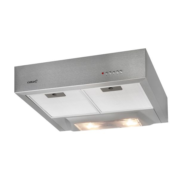 Conventional Hood Cata S-BOX 1301 60 Cm 220 M3/h 57 DB 100W Stainless Steel