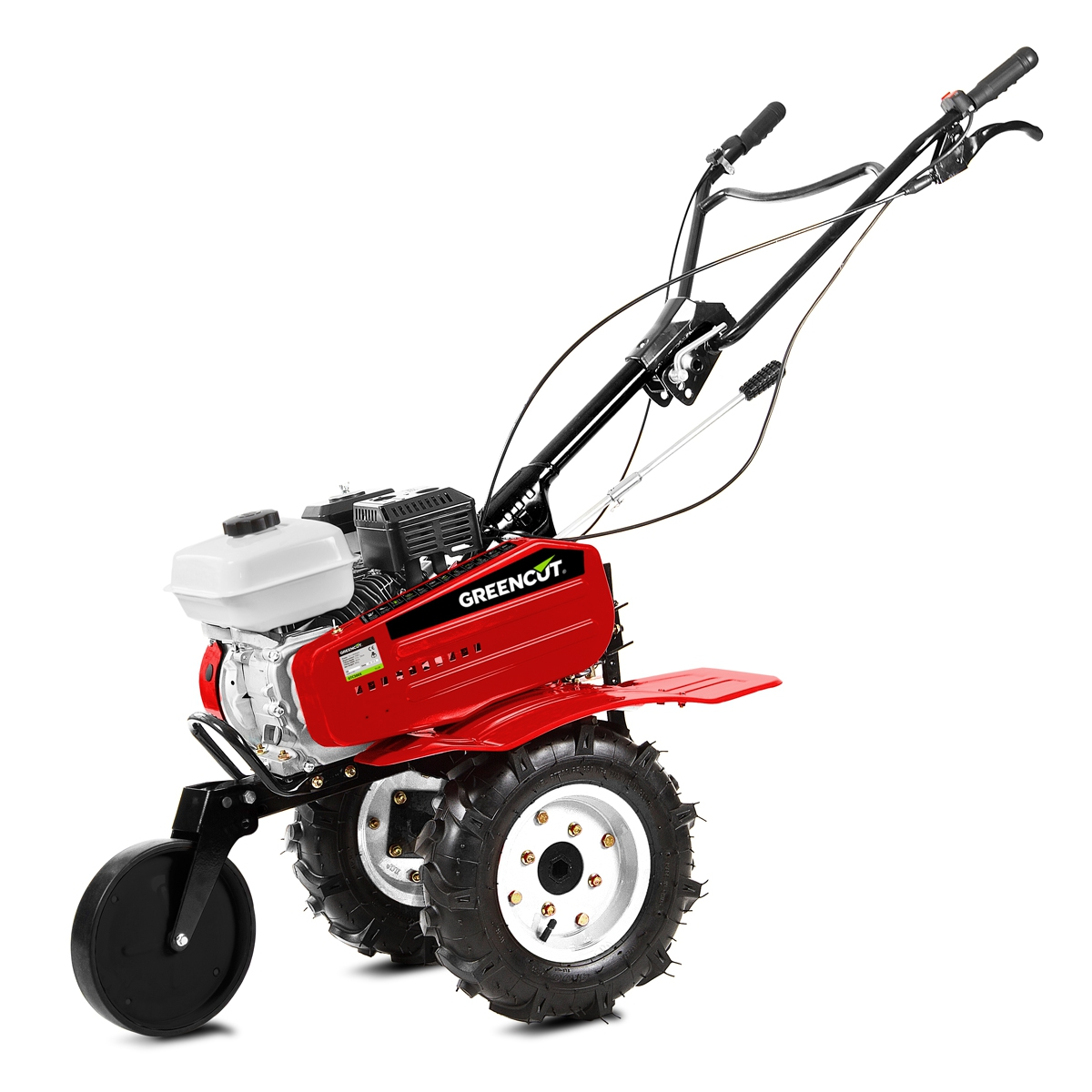 Cultivator Gasoline 7sv Width 85cm 3 Gears With Wheels And Asurcador-GREENCUT