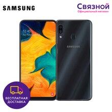 Смартфон Samsung Galaxy A30 32GB Состояние отличное [ЕАС, Бывший в употреблении, Доставка от 2 дней, Гарантия 180 дней]