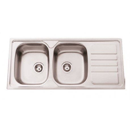 Sink With Drainer With/without Hole Faucet De11650